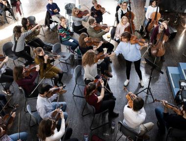 Nicola Benedetti at MiSST Saturday School