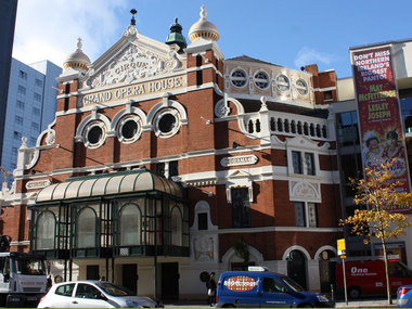Ulster Architectural Heritage Society Belfast Grand Opera House